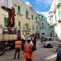 Iniziati i lavori per il rifacimento del basolato a Molfetta