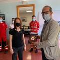 Ventilatore polmonare donato dalla Croce Rossa Puglia all'ospedale di Molfetta