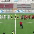 La Molfetta Calcio in campo per il recupero contro il Portici