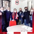 """Lo stadio  """"Paolo Poli """" sempre più biancorosso: convenzione tra Molfetta Calcio e Comune"""