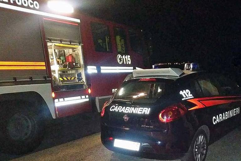 Vigili del Fuoco e Carabinieri