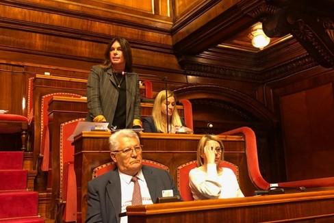 Carmela Minuto in Senato