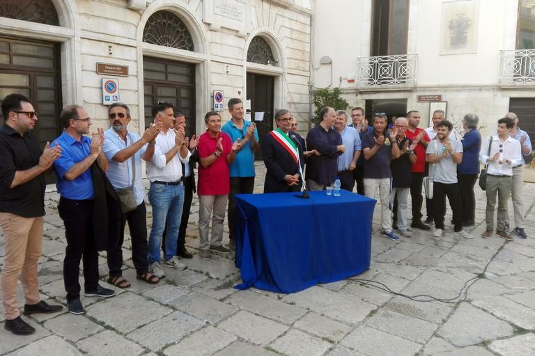 Cerimonia proclamazione Tommaso Minervini sindaco