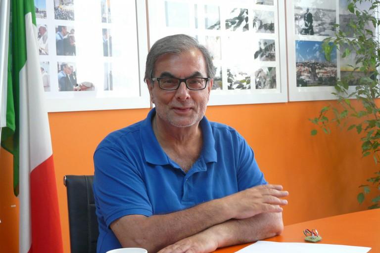 conferenza stampa sindaco Minervini per due anni di mandato JPG