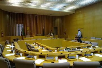 Aula del Consiglio comunale di Molfetta