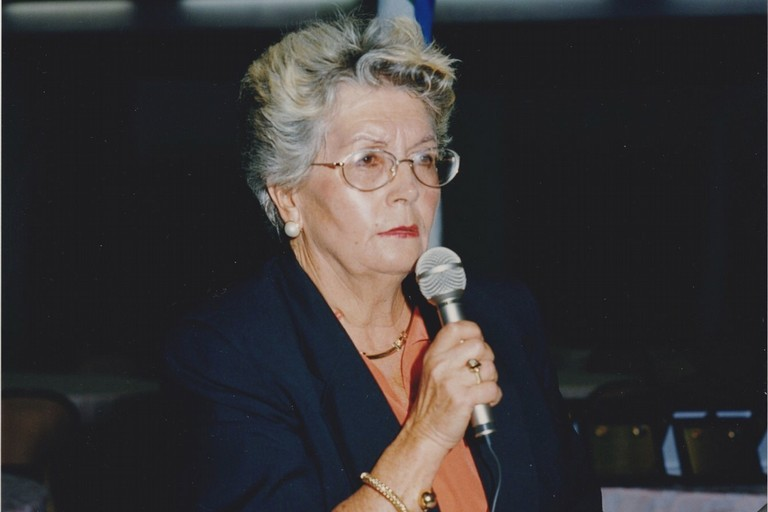 Prof. ssa Ottavia Caló (foto di Panathlon Molfetta)