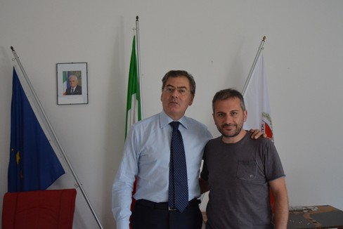 Commissario Mauro Passerotti e ing Gianluca Biscotti (Foto Isabella de Pinto)