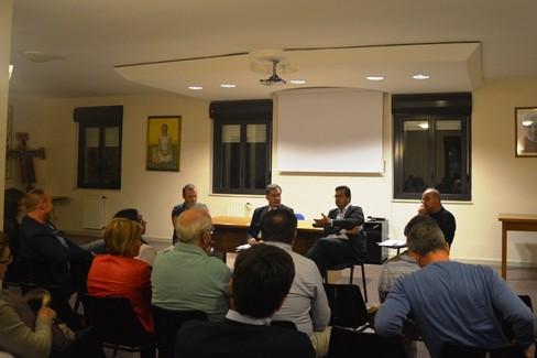 Incontro Commissario con comitato di quartiere Levante. <span>Foto Isabella de Pinto</span>
