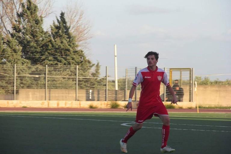 Antonio Serino in azione