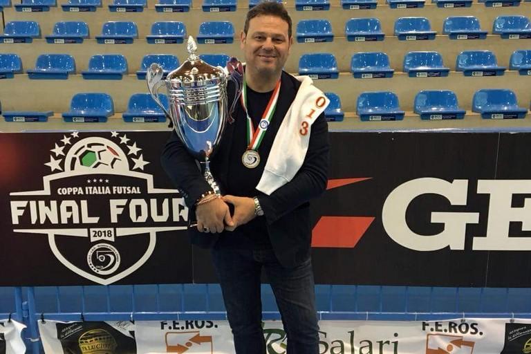 De Giglio con la Coppa Italia