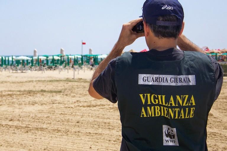 Gli operatori del WWF Puglia