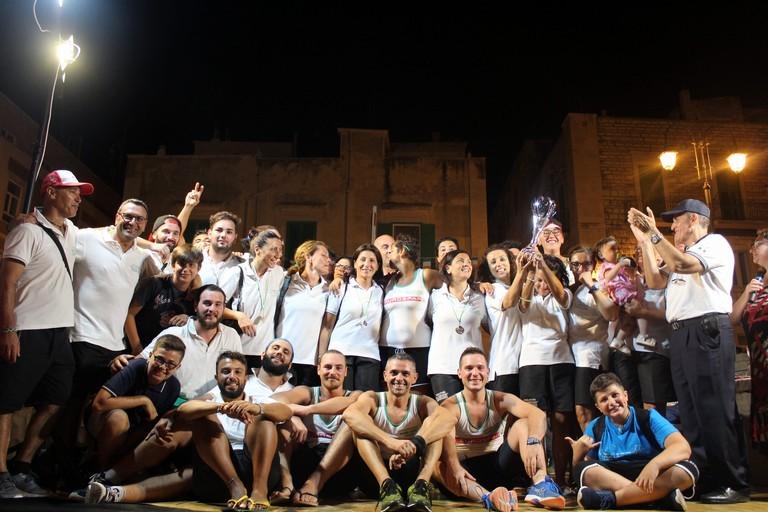 Giovinazzo sul podio (foto Gianluca Battista)