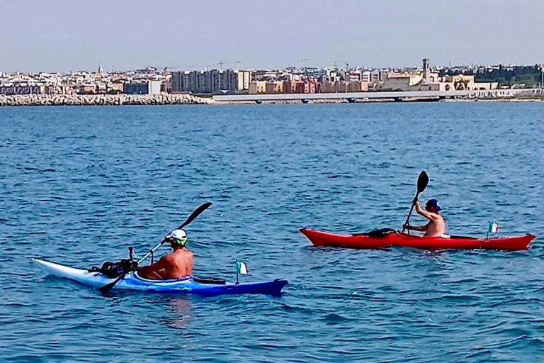 Pisani e de Candia in mare