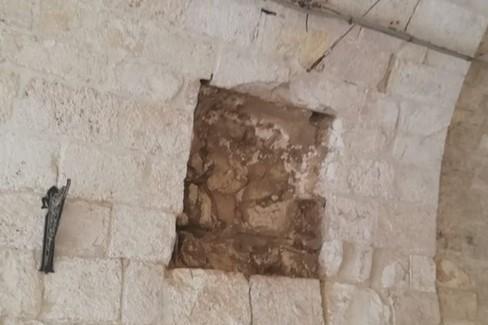 Icona votiva deturpata