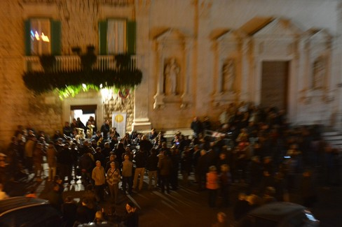 Concerto marce funebri 2 novembre 2016. <span>Foto Isabella de Pinto</span>