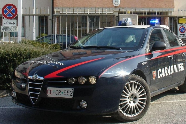 Sorpresi con la refurtiva, la lanciano contro i Carabinieri: denunciato