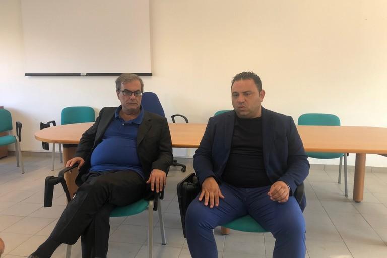 Minervini e Paparella in conferenza stampa