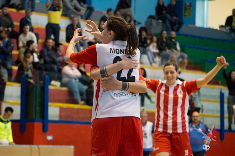 Esultanza Futsal Molfetta