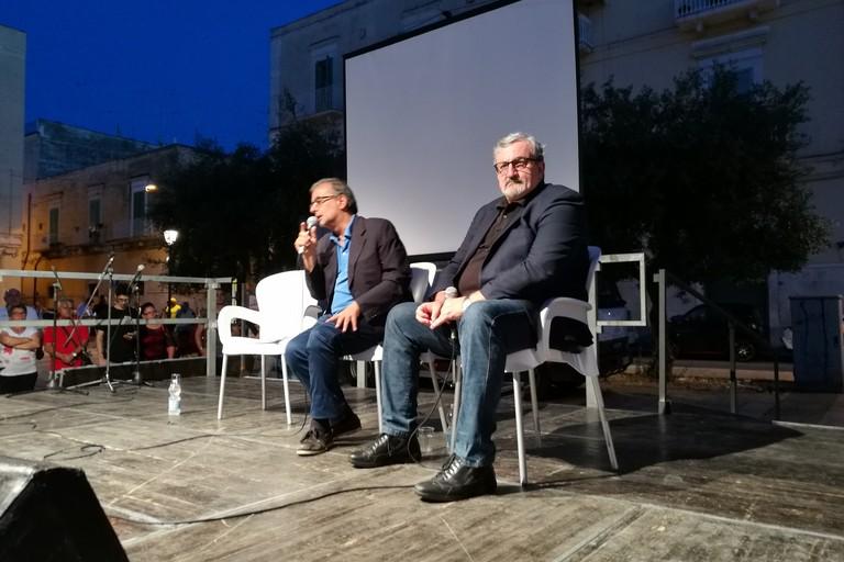 Tommaso Minervni e Michele Emiliano
