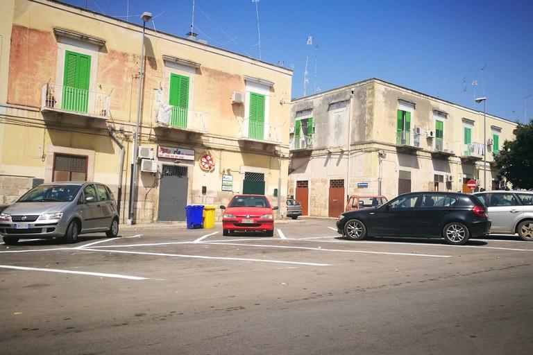 Parcheggio su Corso Fornari