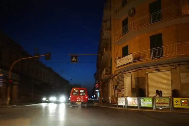 Corso Fornari al buio
