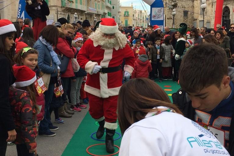 Corri con Santa Claus