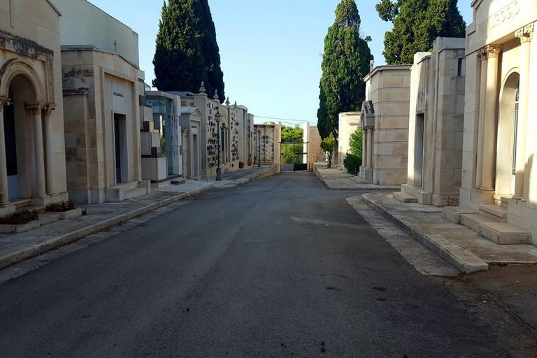 Cimitero di Molfetta. <span>Foto Vincenzo Bisceglie</span>