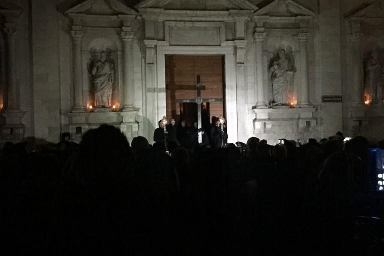 Riti per il mercoledì delle Ceneri a Padova
