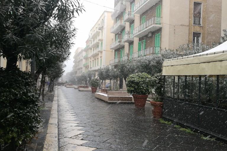 Nevicherà questa sera su Latina e provincia, l'allerta della Protezione Civile