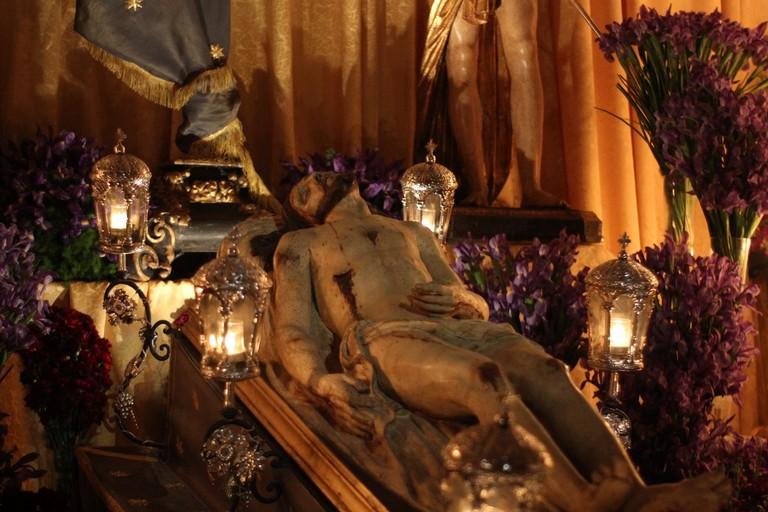 Gesù morto. <span>Foto Anna Maria Tota</span>