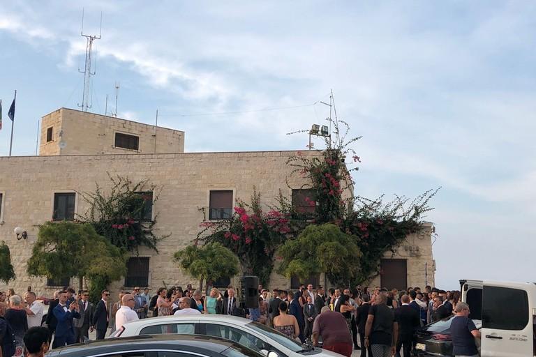 Festa davanti al Duomo