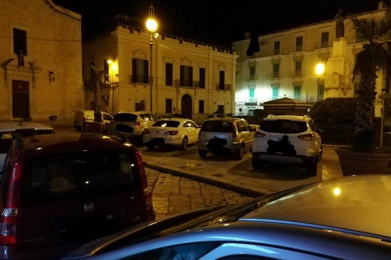 Auto sosta Piazza Cappuccini
