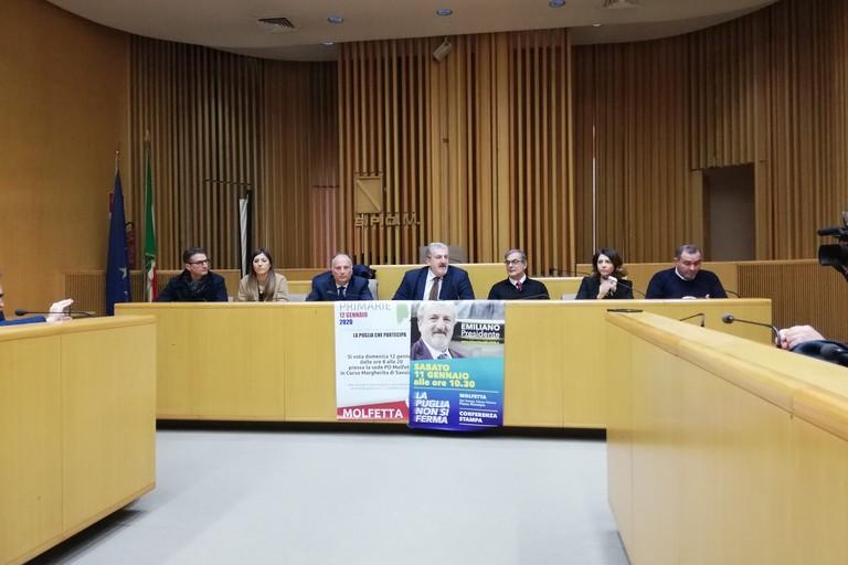Michele Emiliano e l'amministrazione Minervini
