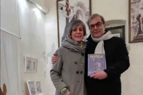 Vittoria Facchini e Tommaso Minervini