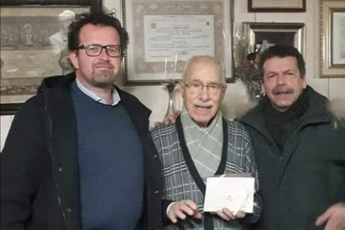 Antonio Sallustio e il priorato dell'Arciconfraternita della Morte. <span>Foto Pagina Facebook Arciconfraternita della Morte </span>