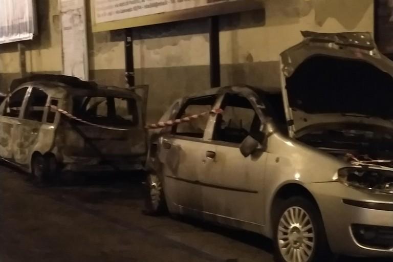 L'incendio avvenuto in via Baccarini