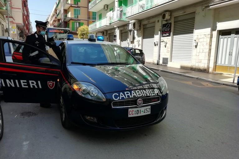 L'arresto eseguito dai Carabinieri