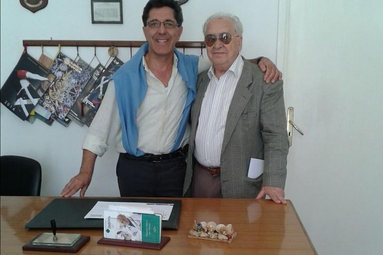 Sergio Ragno e Giovanni Magarelli