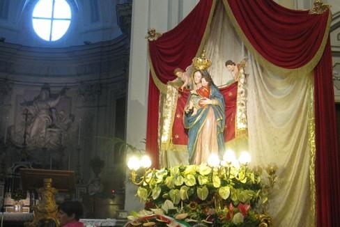 Madonna dei Martiri 2015 cattedrale (Foto Isabella de Pinto)
