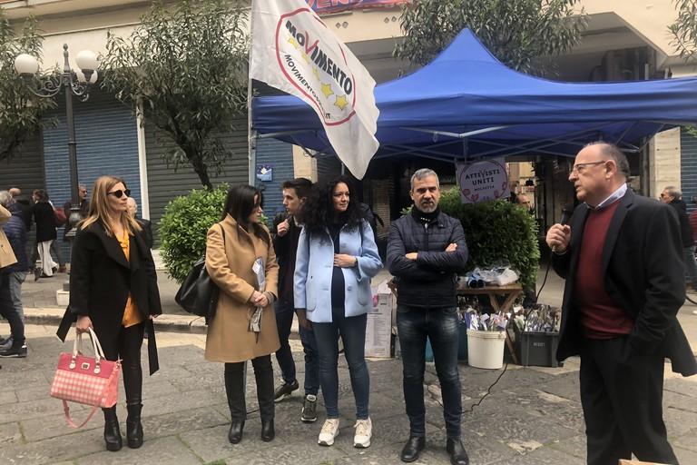 Piarulli e Galizia a Corso Umberto