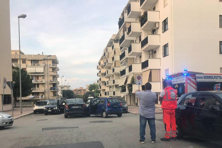 Incidente a Pandino: due feriti non gravi