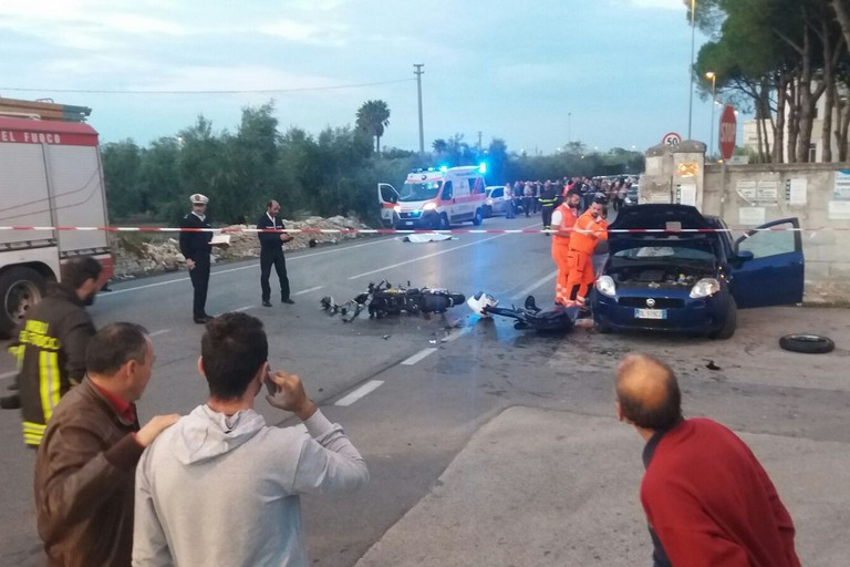 Incidente Molfetta Terlizzi