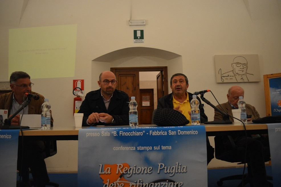 Conferenza stampa Ospedale Nord Barese (Foto Isabella de Pinto)
