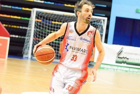 Andrea Maggi in azione