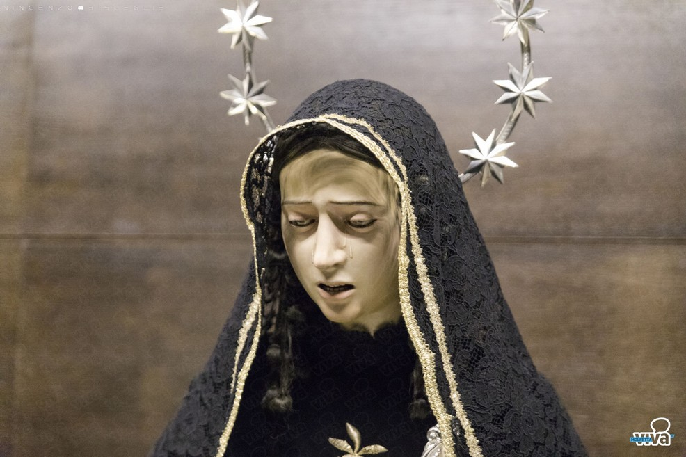 La Pietà di Giulio Cozzoli. <span>Foto Vincenzo Bisceglie</span>