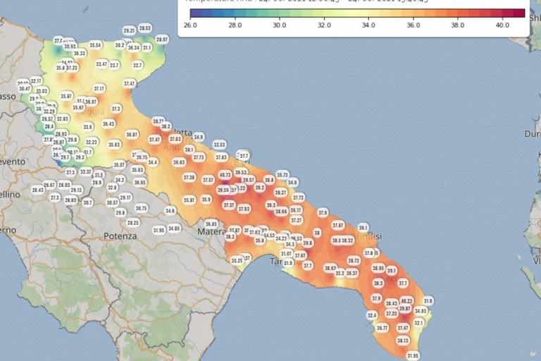 Nuova ondata di caldo su Molfetta e nel resto della Puglia: le previsioni