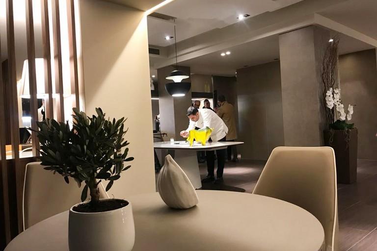 Lo chef stellato Felice Lo Basso