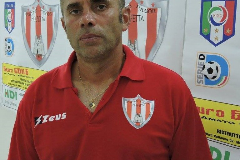 Sporting Fulgor Molfetta, esonerato Mister Giuseppe Lo Polito