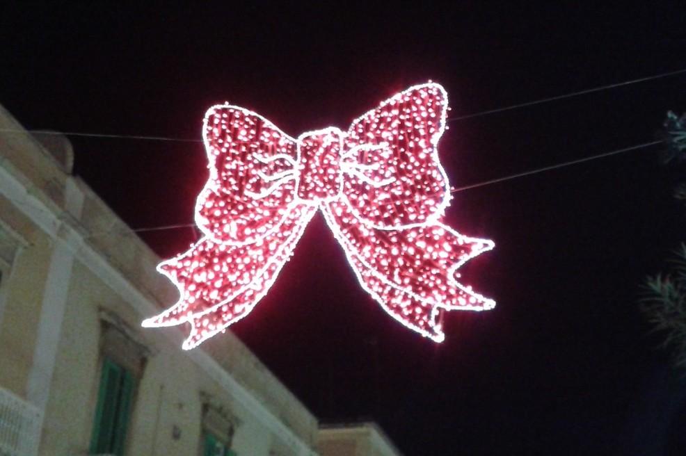 Natale 2016 luminarie. <span>Foto Isabella de Pinto</span>