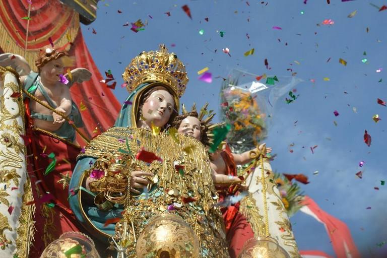 Madonna dei Martiri ( foto di famiglia Marino-Amato)